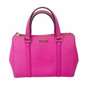 Kate Spade hot pink leather handbag